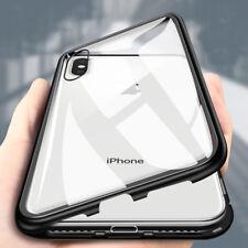 Coque de Protection Pour iPhone Magnetique Métal Bumper Anti Chocs Etui Housse