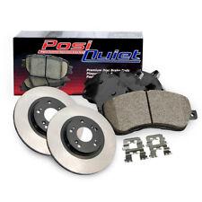 Rear Premium Brake Rotor&Posi-Quiet Ceramic Pad 3PCS For 2013-2015 Lexus GS350