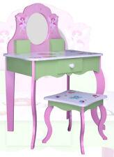 Kinder SCHMINKTISCH ROSA 426 Kindertisch Frisiertisch Kommode Spiegel Tisch Holz