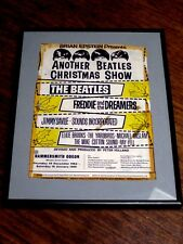ANOTHER BEATLES CHRISTMAS SHOW ~ HAMMERSMITH ODEON 1964 ~ FRAMED ORIGINAL COVER