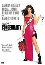 Brand New DVD Miss CongenialitySandra Bullock Michael Caine Benjamin Bratt