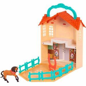 Spirit Riding Free Stow 'n Go Barn Playset  NEW