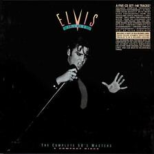 ELVIS PRESLEY - THE KING OF ROCK'N'ROLL  THE COMPLETE 50's MASTERS BOX 5 CD 1992