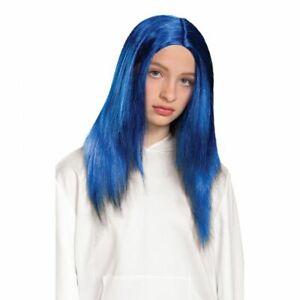Billie Eilish Official Blue Hair Shoulder Length Child Costume Wig | Disguise