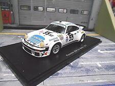 PORSCHE 911 934 Le Mans 1977 #55 Danone Fernandez TARRADAS s5090 SPARK 1:43