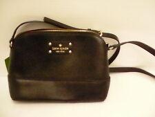 Kate spade hanna wellesley black small crossbody bag  new