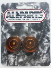 NEW 4 Boutons Allparts - Ambre - sans chiffres - pour guitare Les Paul