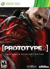 Prototype 2 Blackwatch Collector''s Edition Xbox 360 New Xbox 360