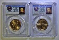 2007D Presidential Series-Thomas Jefferson, 1st Year Issue, 1st Day Issue, MS65