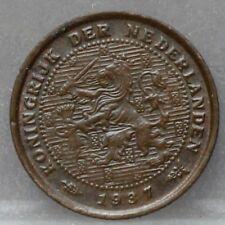 Nederland - The Netherlands  halve cent 1937 - 1/2 cent 1937 KM# 137