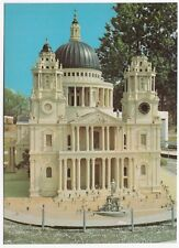 Dorset; Tucktonia Model Village 'St Pauls Cathedral'  PPC, Unused, Beric Tempest
