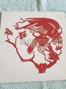 GRAVENHURST BLACK HOLES IN THE SAND VINYL LP RARE 1ST PRESSING 2004 WARP RECORDS