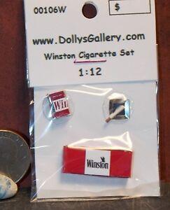 Dollhouse Miniature Cigarette Carton 1:12 scale Cigarettes w2 H72 Dollys Gallery