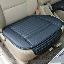1PC Black PU Leather Car Seats Protect Mat Cover Pad Breathable Cushion