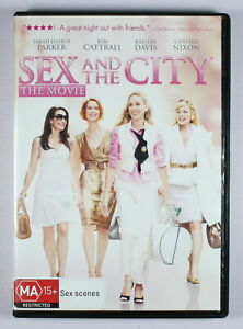 Sex And The City The Movie DVD FREE POST
