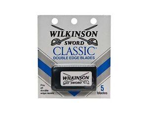 Wilkinson Sword CLASSIC Double Edge Razor Blades 5 count