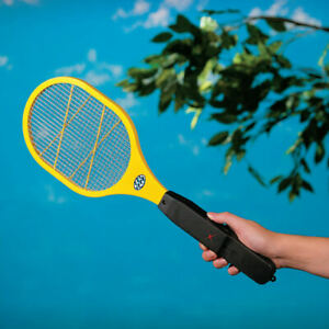 Battery Powered Handheld Electronic Mosquito Bug Zapper Swatter