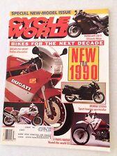 Cycle World Magazine Ducati 750 Sport December 1989 030517NONRH