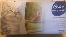 Oster Sunny Seat Window-Mounted Cat Bed, 50 Pounds NEW CONDITION RETURN