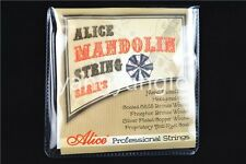 Alice AM06 Mandolin Strings Plated Steel&Coated 85/15 Bronze Wound Strings