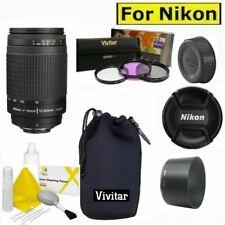 Zoom NIKKOR 70-300mm f4-5.6G Lens + NEOPRENE CASE FOR NIKON D3100 D3300 D5000