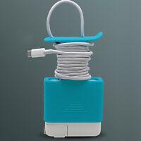 Für Ap MacBook Netzteil 61W 96W Ladegerät Schutzhülle Cable Organizer