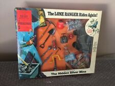 Vtg 1973 MOC Hubley The Lone Ranger Rides Again The Hidden Silver Mine