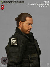 1/6 Action Figure Toy MSE ZERT Urban Sniper Blk Jack Head Sculpt & Neck Joint 33