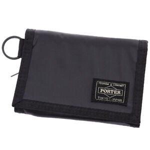 Yoshida Bag PORTER / CAPSULE WALLET 555-06439 Black Japan