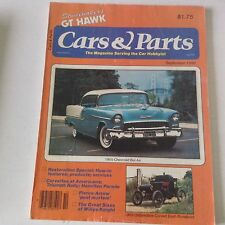 Cars & Parts Magazine 1955 Chevrolet Bel Air September 1980 052917nonrh