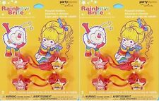 Rainbow Brite Party Supplies Pony Tail Holder - 2 pair