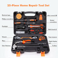 25PCS Household Daily Hardware DIY Home Handy Case Repair Hardware Tool Set