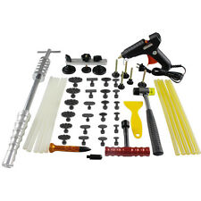PDR Paintless Dent Repair Kit Puller Slide Hammer Hail Removal US Glue Gun Tools