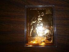 """2002 WWE 22 KT GOLD """"BILLY GUNN"""" CARD #5"""