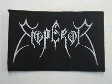 EMPEROR BLACK METAL WOVEN PATCH