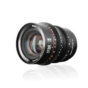 Meike 35mm T2.1 S35 Cinema Lens - PL Mount - Ships Fast From USA!