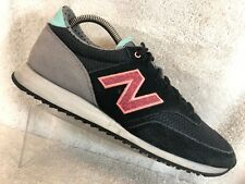New Balance 620 Black Suede Running Shoes Sneakers Trainers Women's 9