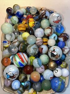 Vintage Old Collectible Marbles