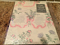 NOS Vintage CARLTON CARDS GIFT WRAP Wrapping Paper BRIDAL SHOWER  SEALED
