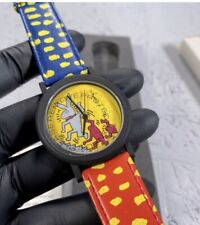 """Keith Haring """"Bunny On The Move"""" 1992 Special Limited Edition Watch"""