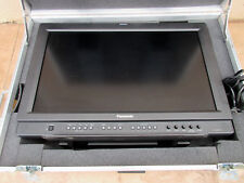 "Panasonic BT-LH2600WP 26"" LCD Monitor w/ Custom Gray Rolling Case Wheels Handle"