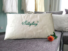 100% A grade Mulberry Silk Filled Pillow - Queen Size