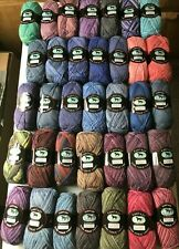 Huge Lot 35 Yarn Skeins 100g Dark Horse Fantasy Variegated Machine Washable