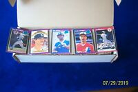 1989 DONRUSS COMPLETE 660 CARDS BASEBALL SET WITH GRIFFEY JR-JOHNSON-BIGGIO RC
