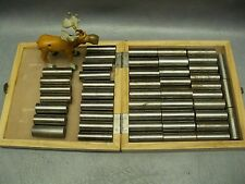 Cylindrical Plug Gages Lot of 48 Assorted Sizes