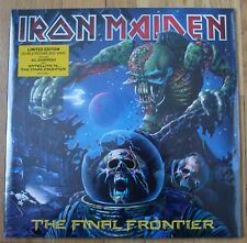 Iron Maiden, the final frontier, 2LP - 33 tours Picture disc - neuf