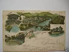 AK Bad Kreuznach 1902 Ansichten