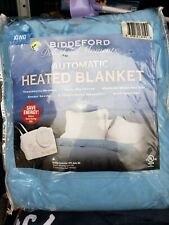 Biddeford Delightful Moment King size automatic heated blanket