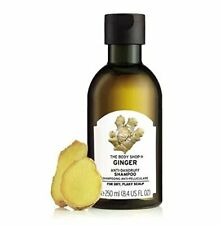 The Body Shop Ginger Anti-Dandruff Shampoo 250ml Free Shipping