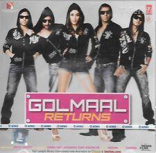 golmaal Returns - Nuevo Bollywood Banda Sonora CD